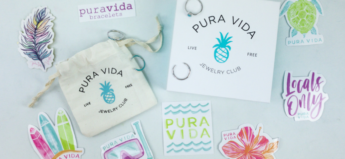 Pura Vida Jewelry Club November 2019 Subscription Box Review + Coupon!