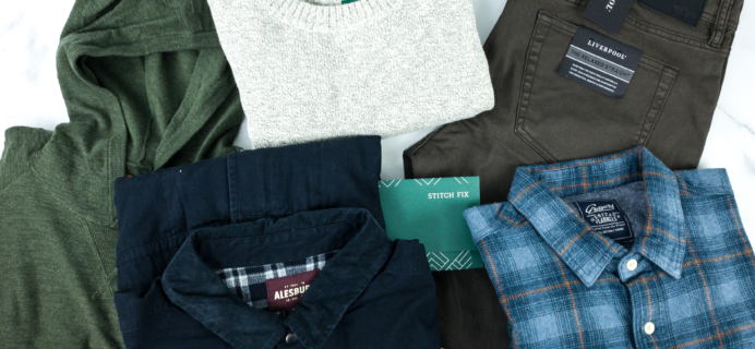 Stitch Fix Men January 2020 Review