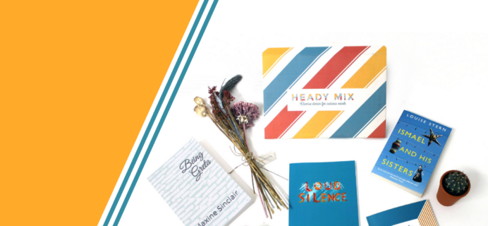 Heady Mix – Review? Book Subscription From Underrepresented Writers!