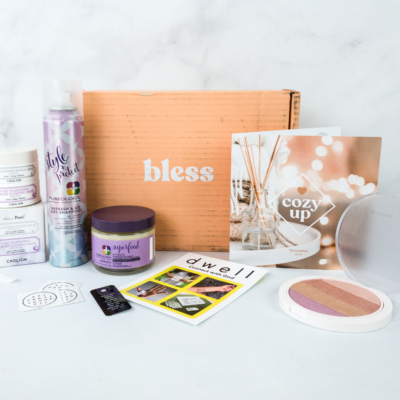 Bless Box November 2019 Subscription Box Review & Coupon