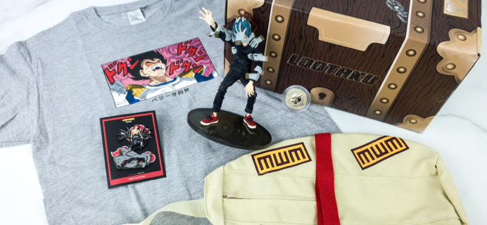 Lootaku November 2019 Subscription Box Review & Coupon – VILLAINS