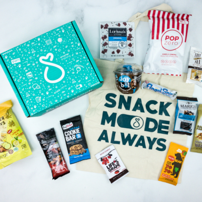 SnackSack December 2019 Subscription Box Review & Coupon – Classic