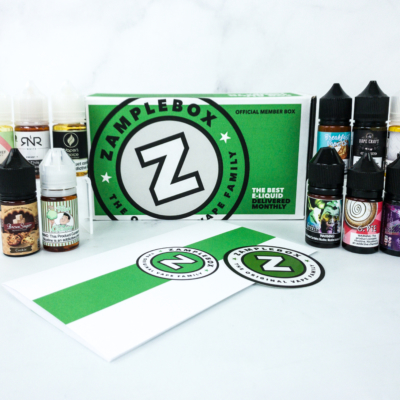Zamplebox E-Juice December 2019 Subscription Box Review + Coupon!