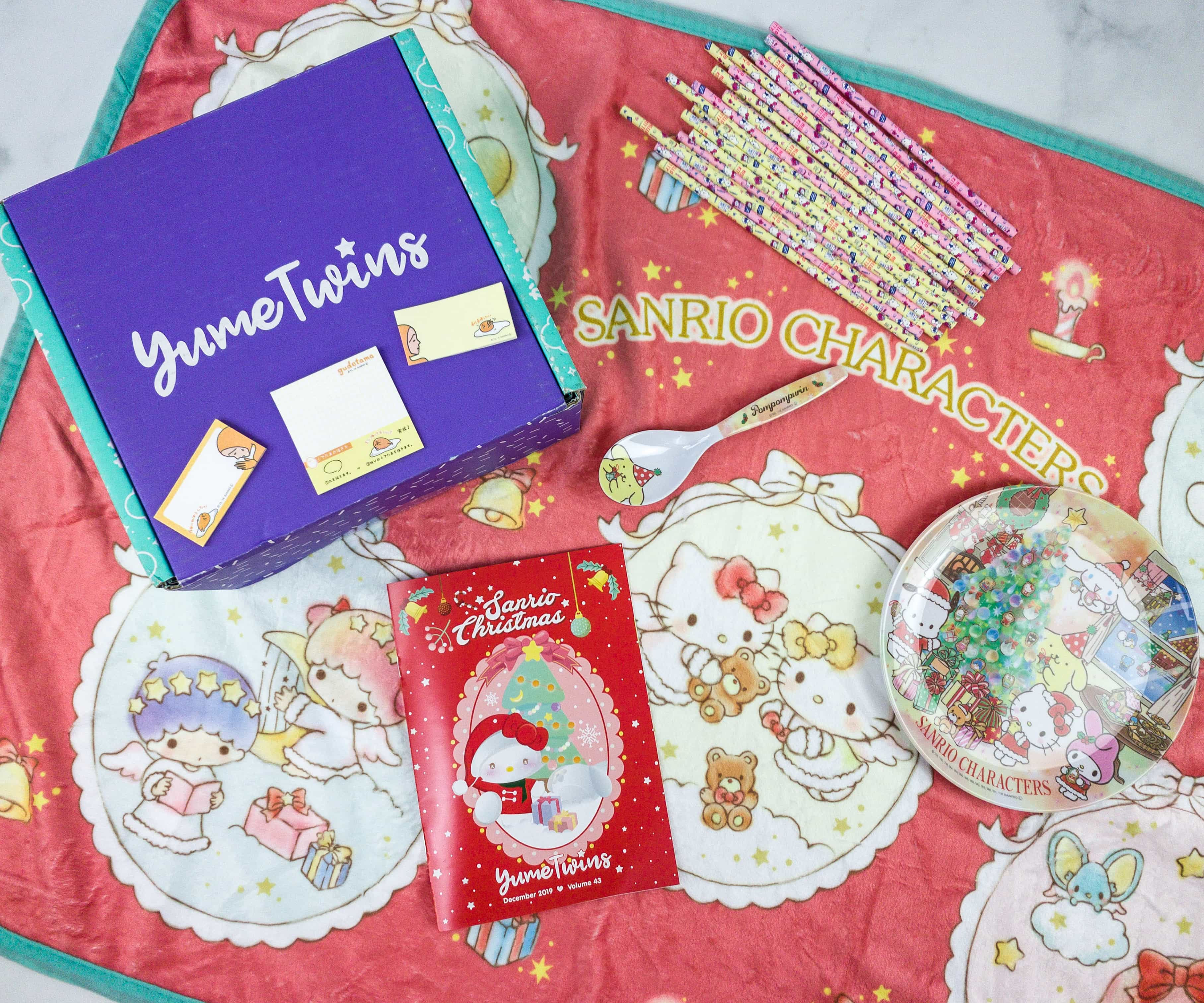 YumeTwins December 2019 Subscription Box Review + Coupon