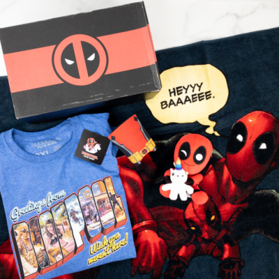 Deadpool Club Merc Summer 2019 Subscription Box Review + Coupon