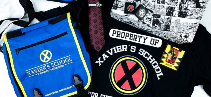 Marvel Gear + Goods September 2019 Subscription Box Review + Coupon! – BACK TO SCHOOL