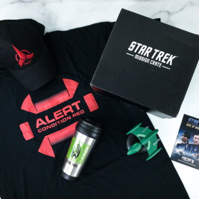 Star Trek: Mission Crate September 2019 Subscription Box Review