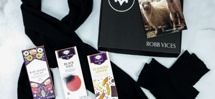 Robb Vices November 2019 Subscription Box Review