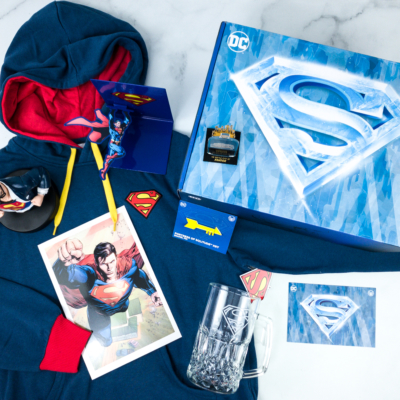 DC Comics World's Finest: The Collection Winter 2019 Box Review – Fortress Of Solitude