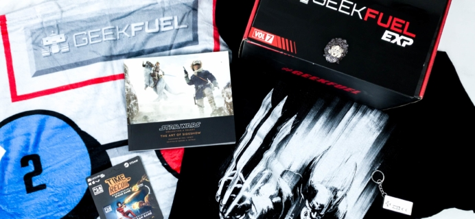 Geek Fuel EXP Winter 2019 Subscription Box Review – Volume 7