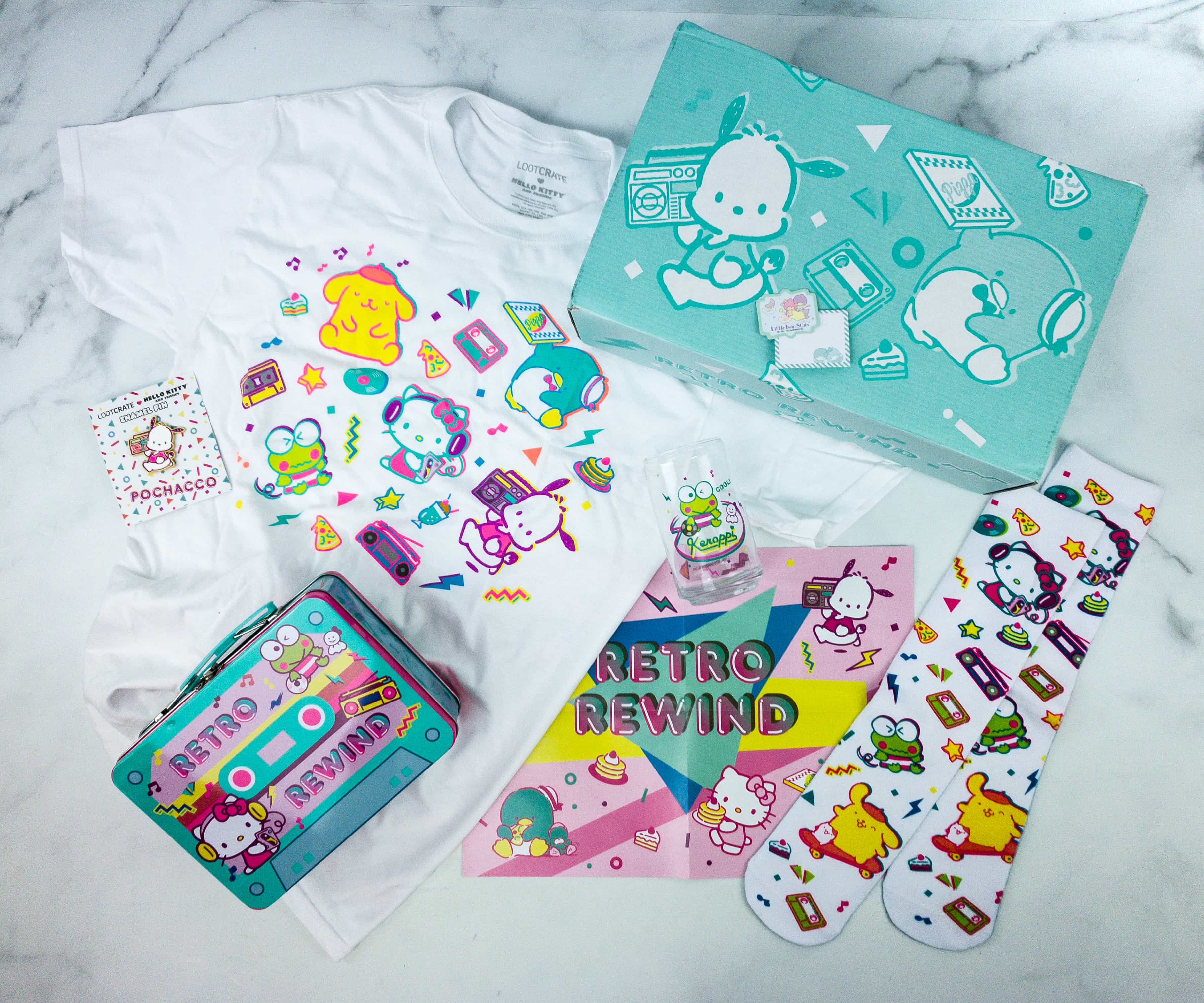 Hello Kitty and Friends Summer 2019 Subscription Box Review + Coupon!