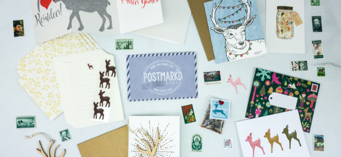 PostBox December 2019 Subscription Box Review + Coupon