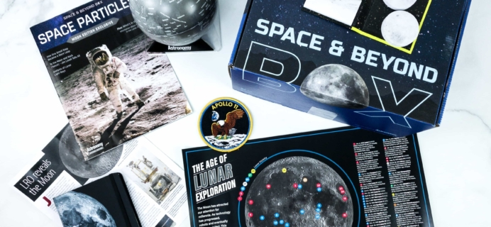 Space & Beyond Box January 2020 Subscription Box Review + Coupon