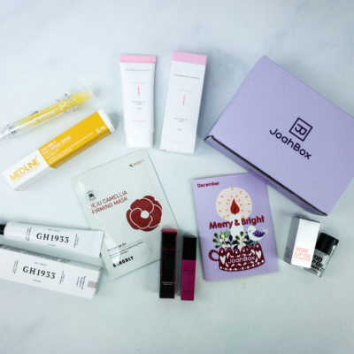 JoahBox December 2019 Subscription Box Review + Coupon