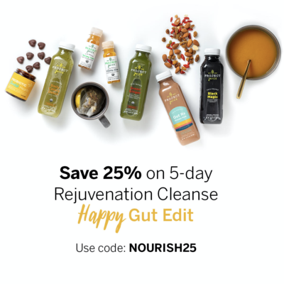 Project Juice New Year Sale: Get 25% Off the Rejuvenation Cleanse – Happy Gut Edit!