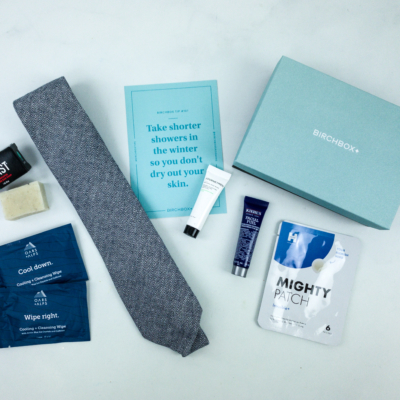 Birchbox Man January 2020 Subscription Box Review & Coupon