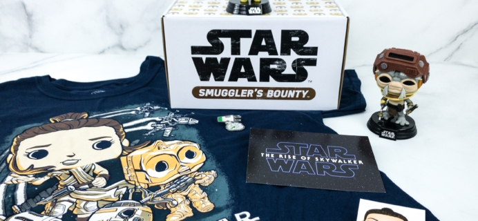 Smuggler's Bounty December 2019 Subscription Box Review