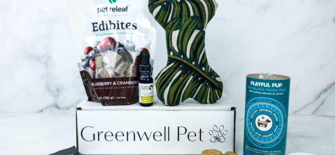 Greenwell Pet January 2020 Subscription Box Review
