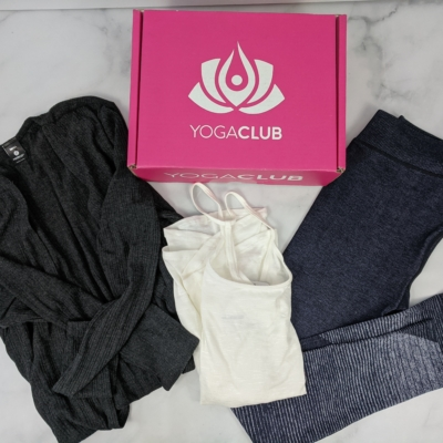 YogaClub Subscription Box Review + Coupon – December 2019