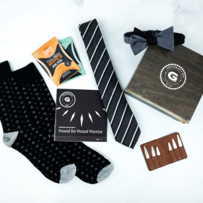 The Gentleman's Box January 2020 Review + Coupon