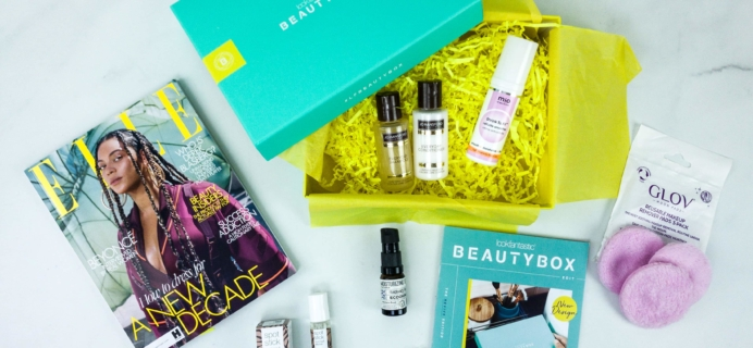 lookfantastic Beauty Box January 2020 Subscription Box Review
