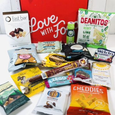 Love With Food January 2020 Deluxe Box Review + Coupon!