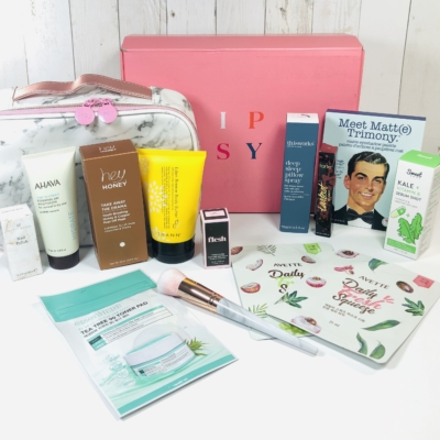 Ipsy Glam Bag Ultimate January 2020 Review