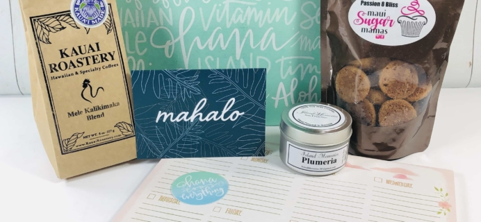 She Lives Aloha Holiday 2019 Subscription Box Review + Coupon!