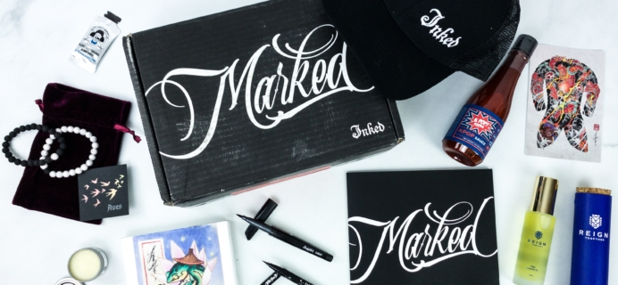 Marked By Inked January 2020 Subscription Box Review + Coupon