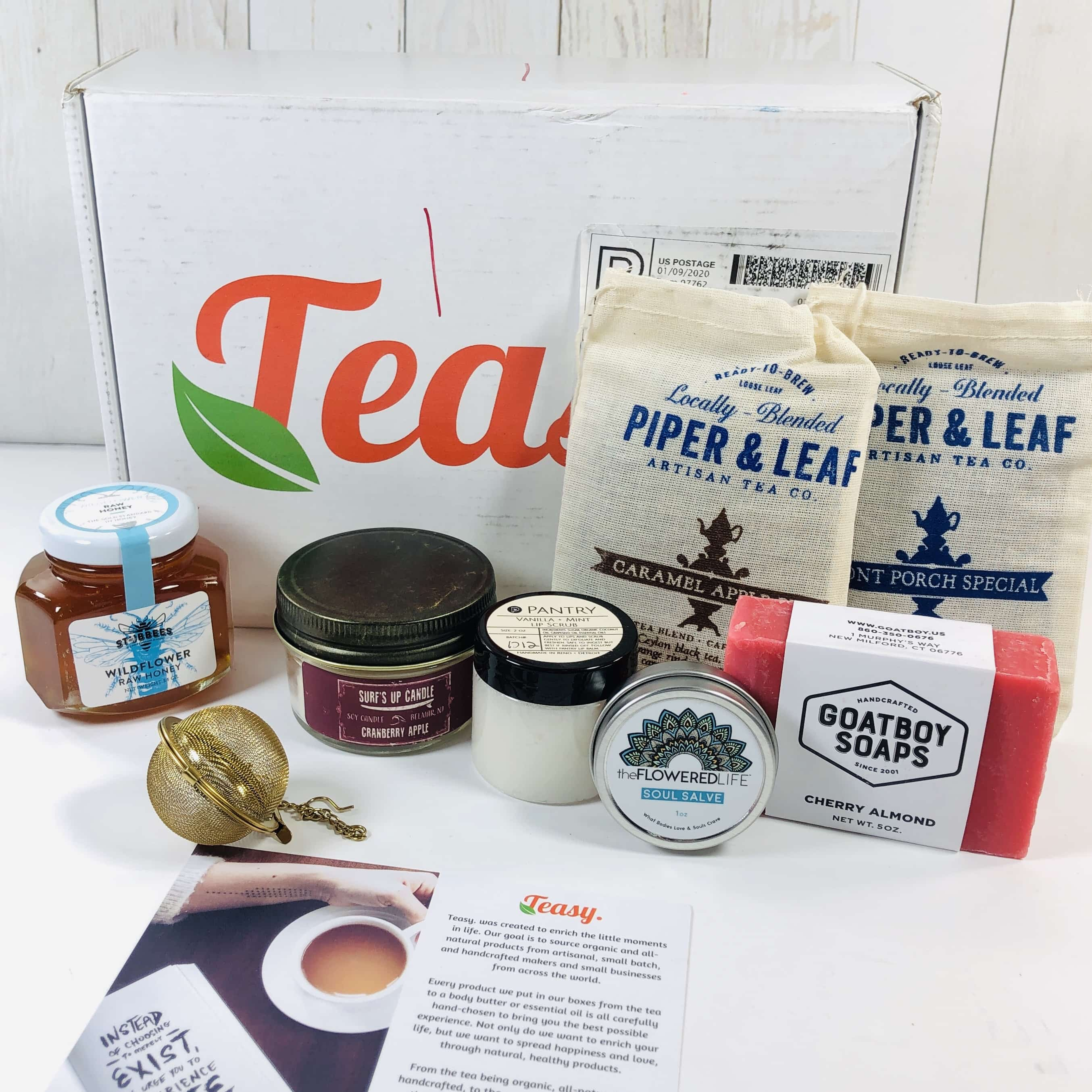 Teasy December 2019 Subscription Box Review + Coupon