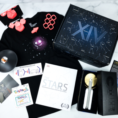 The Curiosity Box by VSauce Winter 2019 Subscription Box Review