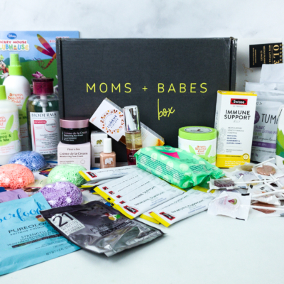 Moms + Babes Winter 2019 Subscription Box Review + Coupon