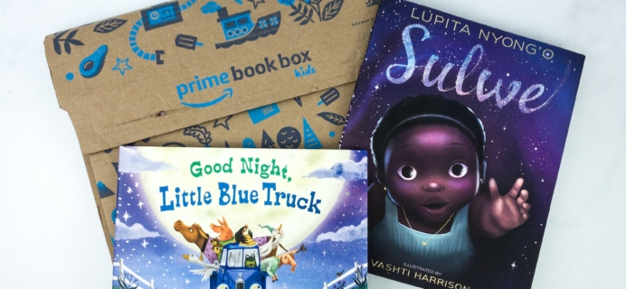 Amazon Prime Book Box Kids January 2020 AGE 3-5 Review