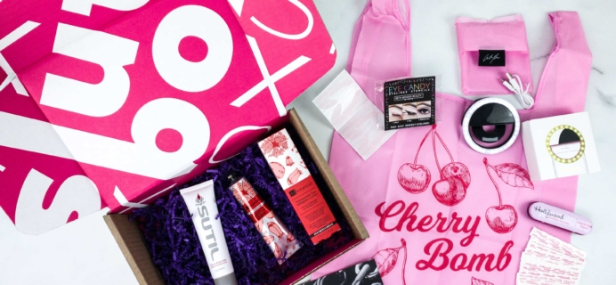 Slutbox by Amber Rose November 2019 Subscription Box Review & Coupon {NSFW}