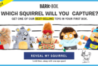 BarkBox Coupon: Get FREE Squirrel Toy!