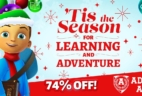 Adventure Academy Winter Sale: Get Your First 2 Months For $5 – 74% Off!