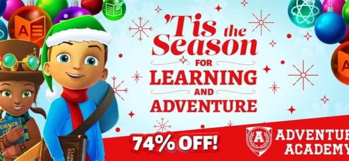 Adventure Academy Winter Sale: Get Your First 2 Months For $5 – 74% Off – LAST CALL!