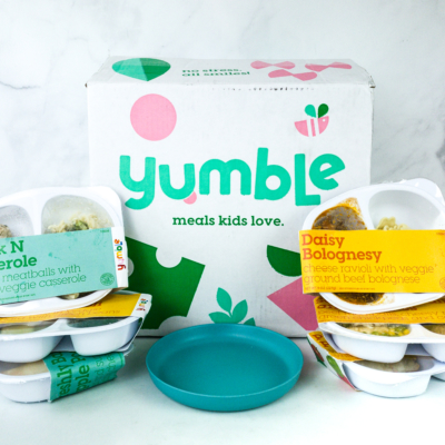 Yumble Kids Winter 2020 Subscription Box Review + Coupons!