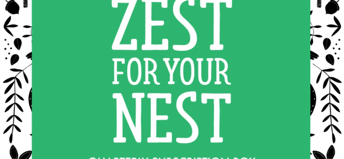 Gingiber Zest for your Nest – Review? Crafts & Home Subscription Box!