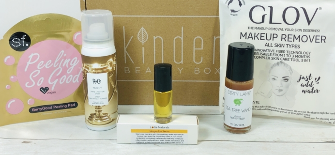Kinder Beauty Box January 2020 Review + Coupon!