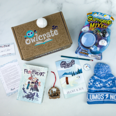 OwlCrate Jr. December 2019 Box Review & Coupon