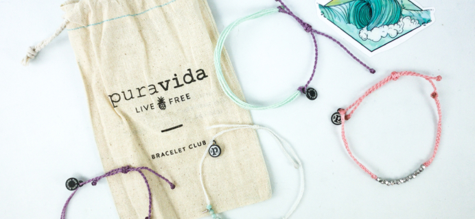 Pura Vida Bracelets Club January 2020 Review + Coupon!
