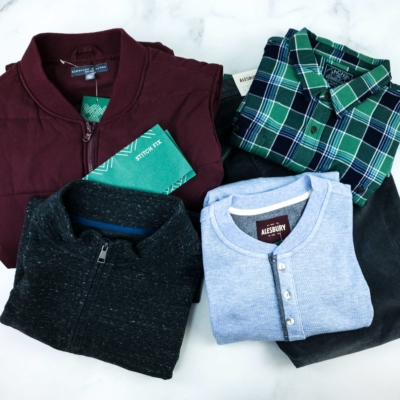 Stitch Fix Men February 2020 Review
