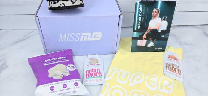 Miss MuscleBox Subscription Box Review + Coupon – January 2020