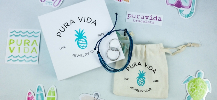 Pura Vida Jewelry Club January 2020 Subscription Box Review + Coupon!