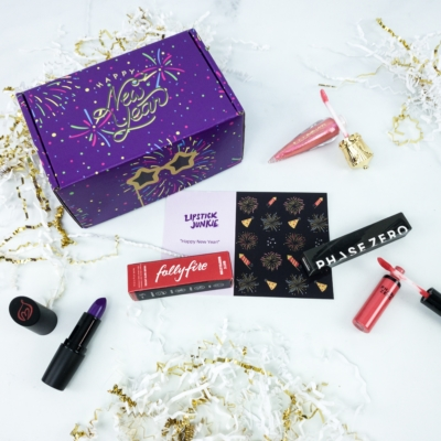 Lipstick Junkie January 2020 Subscription Box Review + Coupon!
