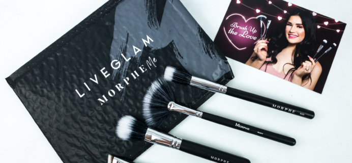 MorpheMe Brush Club February 2020 Subscription Box Review + Free Brush Coupon!