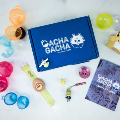 Gacha Gacha Crate January 2020 Subscription Box Review + Coupon