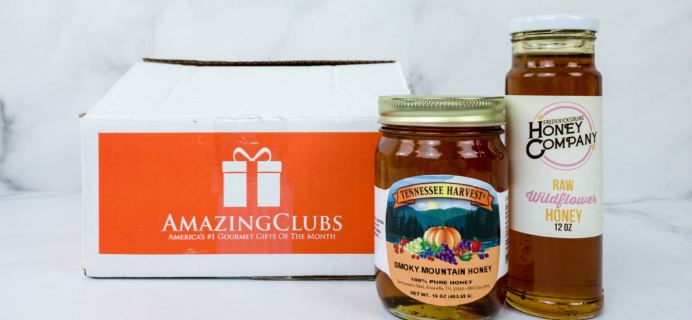 Amazing Clubs Honey of the Month Club January 2020 Subscription Box Review