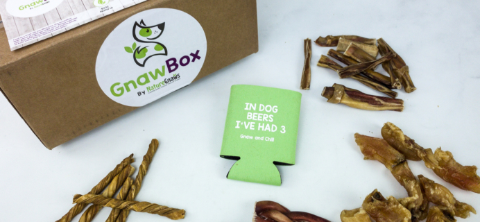 Gnaw Box January 2020 Subscription Box Review + Coupon
